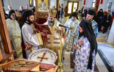 Η εορτή των Αγ. Ιωαννικίου και Γεωργίου του Καρσλίδη στην Ι. Μ. Λαγκαδά
