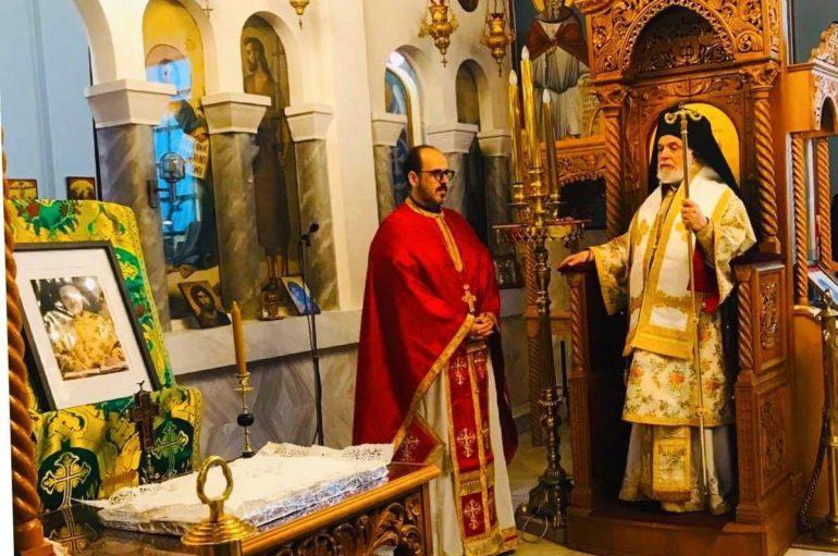 40νθήμερο Mνημόσυνο του π. Γερασίμου Σκαρτσή στην Grenoble