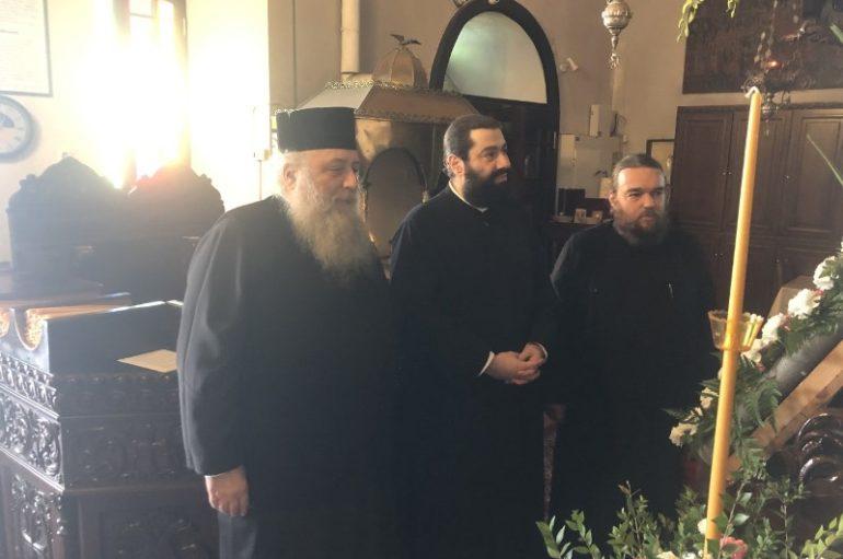 Αφίχθη στην Νάξο ο Επίσκοπος Ευρίπου για την Εορτή της Παναγίας Χρυσοπολίτισσας