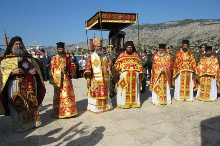 Λαμπρός ο εορτασμός του Πανορμίτη στη Σύμη