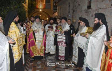 Με λαμπρότητα πανηγύρισε η Ι. Μονή Οσίου Δαυίδ του Γέροντος