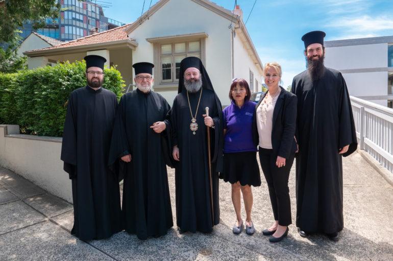Ο Αρχιεπίσκοπος Αυστραλίας σε Ίδρυμα παιδιών με ειδικές ανάγκες