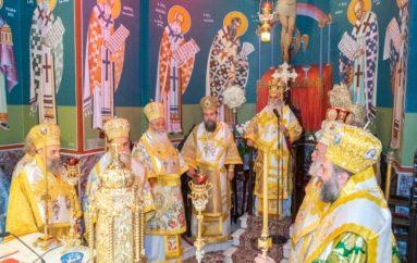 Η πρώτη Θεία Λειτουργία του Μητροπολίτη Καλαβρύτων στην επαρχία του