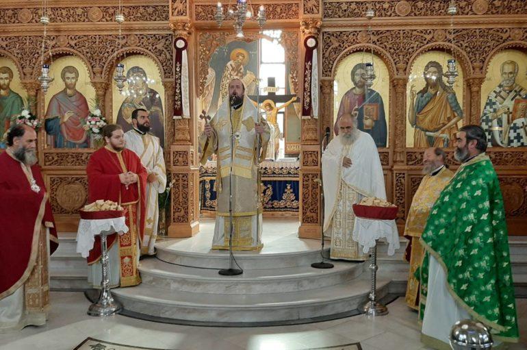 Ο Επίσκοπος Ωρεών στους Αγίους Αναργύρους Ηλιουπόλεως