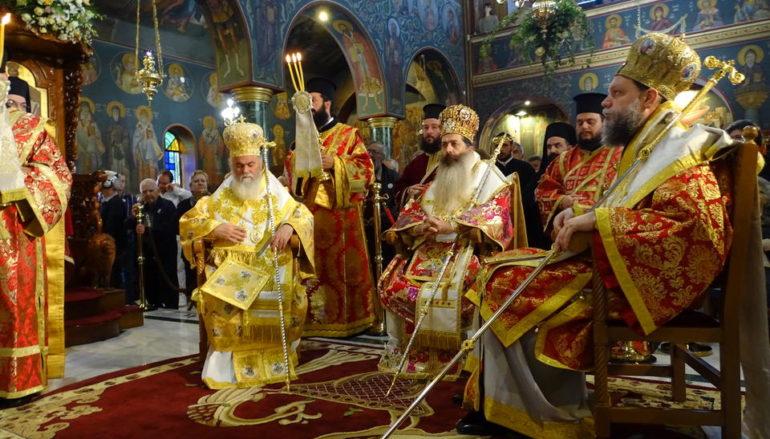 Η Νέα Ιωνία τίμησε τον Πολιούχο της Άγιο Γεώργιο τον Νεαπολίτη