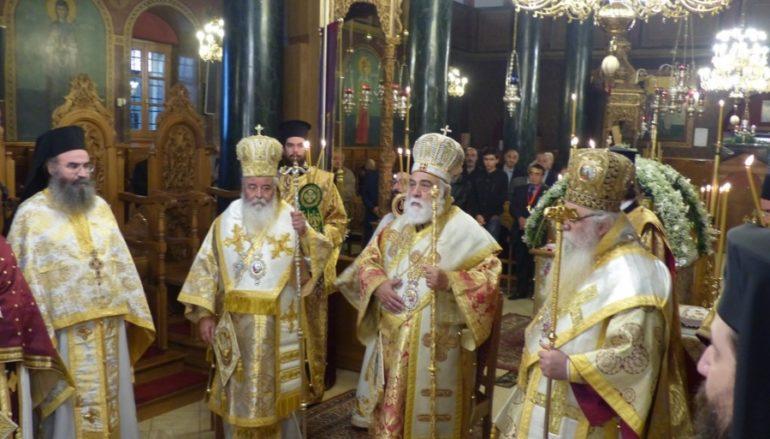 Λαμπρό Συλλείτουργο για τον Άγιο Ιάκωβο τον εκ Καστορίας