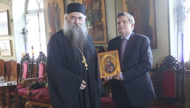 """Αθ. Μαρτίνος: """"Περιουσία του Ελληνικού λαού υπό κίνδυνο το κτήριο της Μονής Εσφιγμένου"""""""