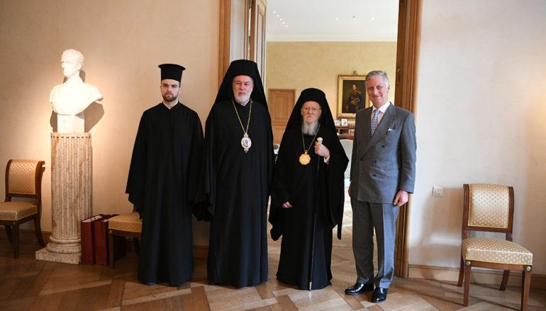 Ο Οικουμενικός Πατριάρχης στον Βασιλέα του Βελγίου Φίλιππο