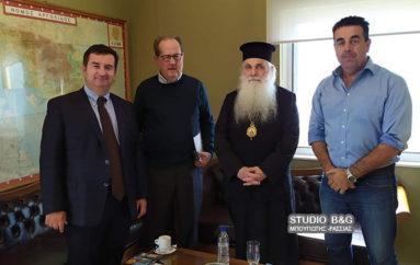 Συνάντηση του Μητροπολίτη Αργολίδος με τον Περιφερειάρχη Πελοποννήσου