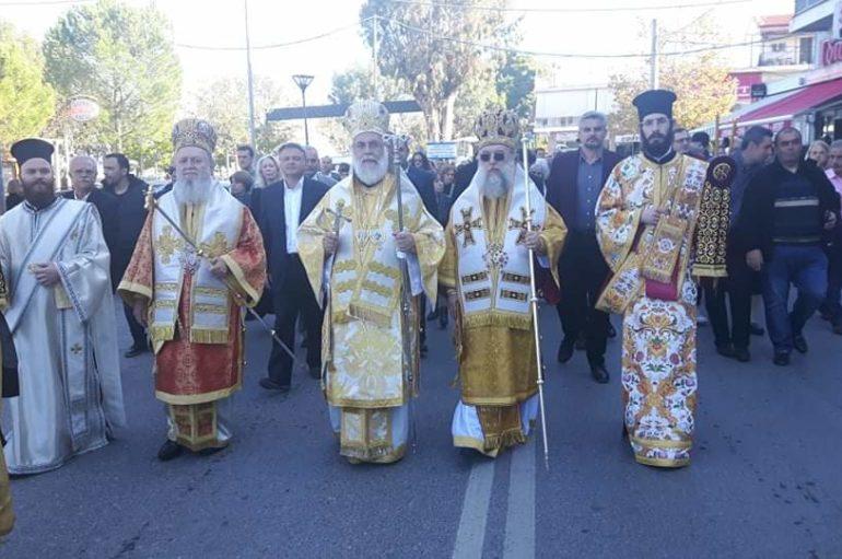 Αρχιερατικό Συλλείτουργο για τον Άγιο Ανδρέα στην Σκάλα Ωρωπού