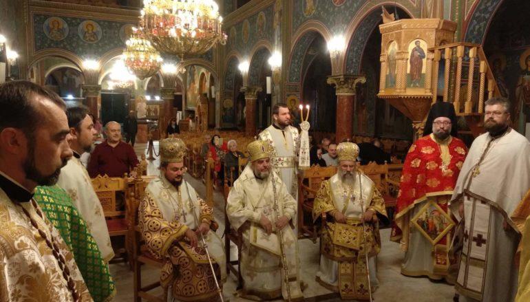 Με λειτουργία στα Ουκρανικά άρχισε το σαρανταλείτουργο στην Αγ. Μαρίνα Ηλιουπόλεως