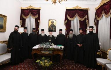 Επίσκεψη Καθηγουμένων του Αγίου Όρους στο Οικ. Πατριαρχείο