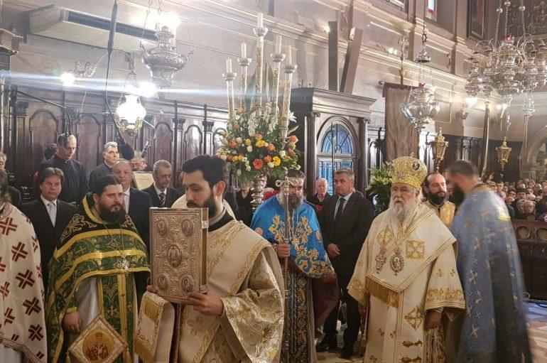 Η Κέρκυρα τίμησε τον Πολιούχο της Άγιο Σπυρίδωνα