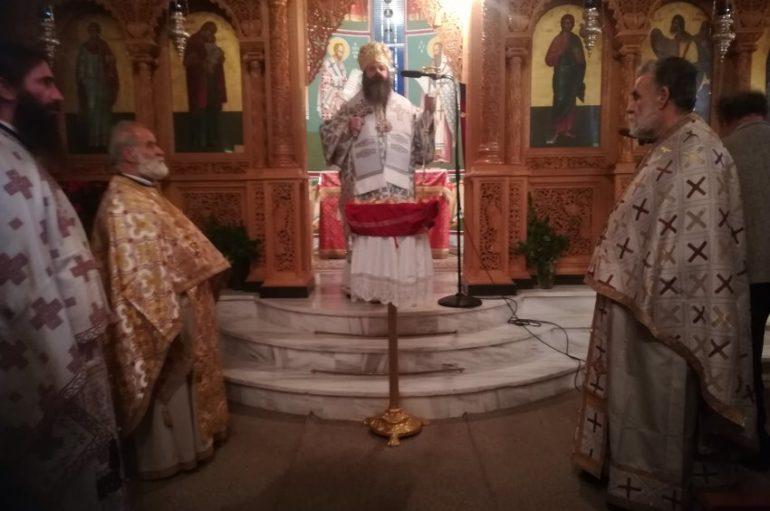 Η εορτή του Αγίου Στεφάνου στην Ι. Μ. Κορίνθου