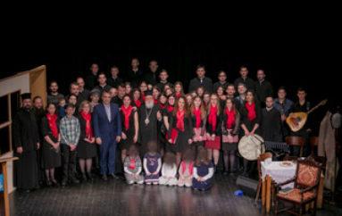 Χριστουγεννιάτικη εκδήλωση στην Ι. Μητρόπολη Μαντινείας