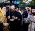 Υποδοχή αποτμήματος της καρδιάς του Αγίου Λουκά στον Άγιο Ελευθέριο Αχαρνών