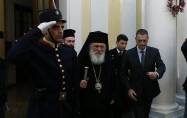 """Αρχιεπίσκοπος: """"Το Σώμα Στρατιωτικών Ιερέων προσέφερε πολλά στην Πατρίδα"""""""