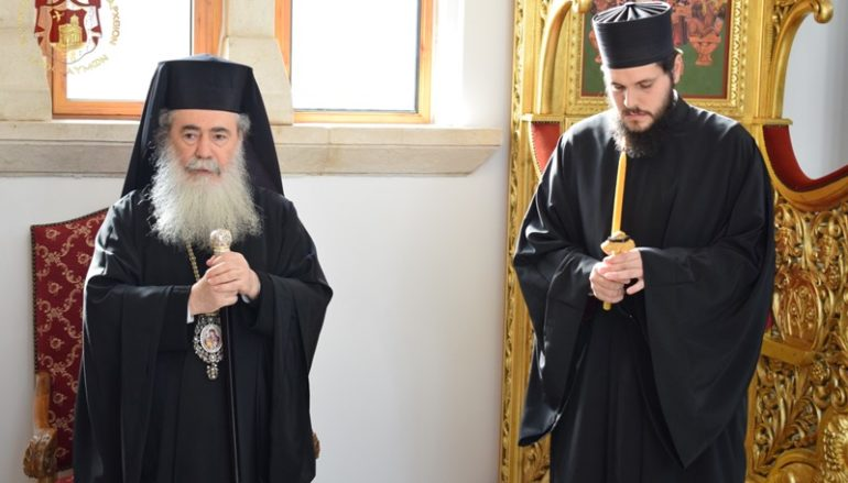 Κουρά Μοναχού στο Πατριαρχείο Ιεροσολύμων