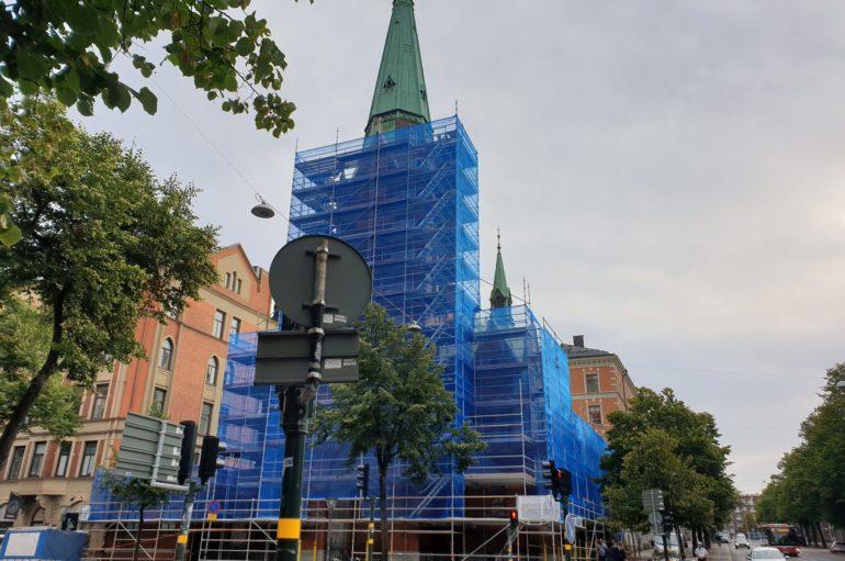 Ημέρα δοξολογίας στη Στοκχόλμη για την ανακαίνιση του Καθεδρικού Ναού