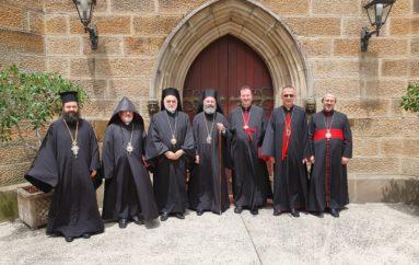 Στον Αρχιεπίσκοπο Αυστραλίας Επίσκοποι Χριστιανικών Αποστολικών Εκκλησιών Μέσης Ανατολής