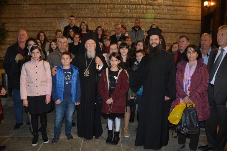 Στους βιγλάτορες της Πίστης τα παιδιά του Κέντρου Νεότητας Γρεβενών