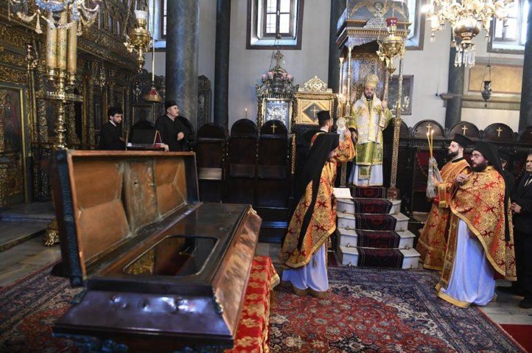 Η εορτή της Αγίας Θεοφανούς της Βασιλίσσης στο Οικ. Πατριαρχείο