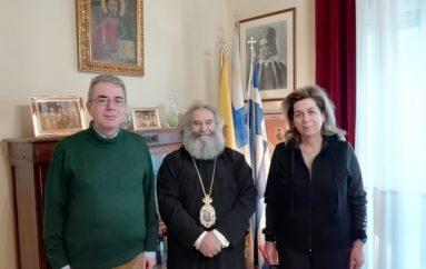 Ο Πρέσβης της Ελλάδας στην Ουκρανία στον Μητροπολίτη Μάνης