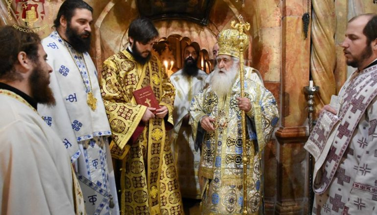 Χειροτονία Διακόνου στο Πατριαρχείο Ιεροσολύμων