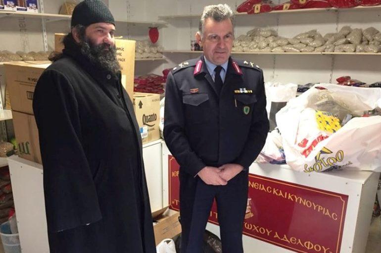 Η Αστυνομική Δ/νση Αρκαδίας αρωγός στο φιλανρωπικό έργο της Ι. Μ. Μαντινείας