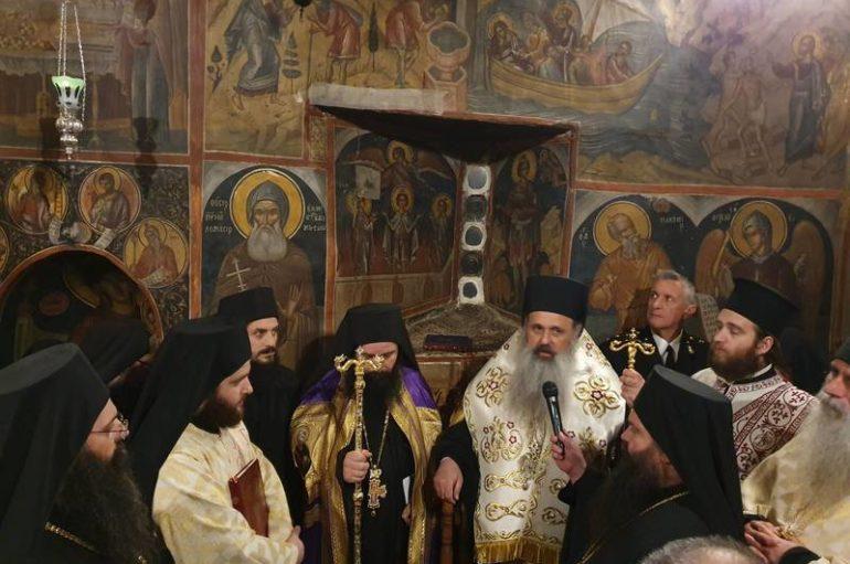 Ενθρόνιση νέου Ηγουμένου στην Ι. Μονή Αγίου Νικολάου Αναπαυσά Μετεώρων