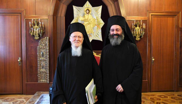 Γράμμα συμπαθείας του Οικ. Πατριάρχη προς τον Αρχιεπίσκοπο Αυστραλίας