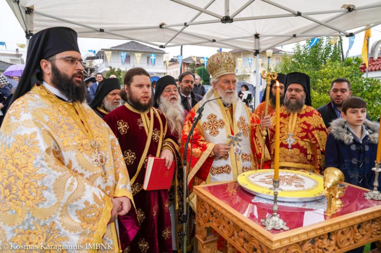 Ο εορτασμός της Αγίας Βαρβάρας στην Ι. Μητρόπολη Βεροίας