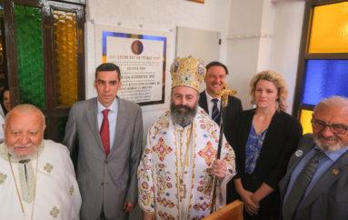 Ο Αυστραλίας Μακάριος καλωσόρισε τα μέλη της Κοινότητας Αγ. Σπυρίδωνος Κλέιτον