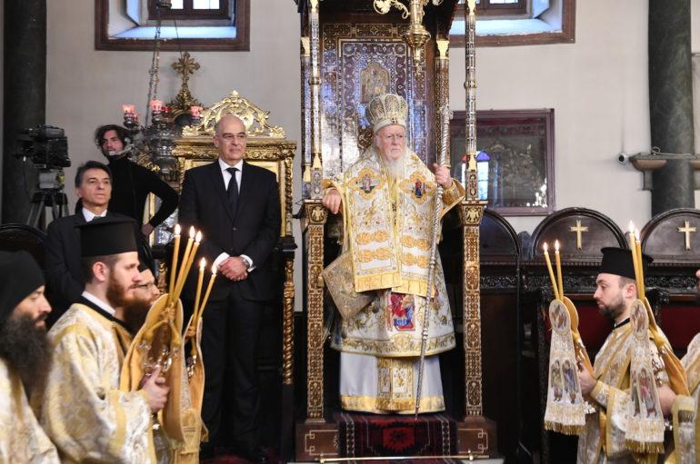 """Οικ. Πατριάρχης: """"Το πεδίον μαρτυρίας του κληρικού είναι ο ναός και όχι τα διάφορα sites"""""""