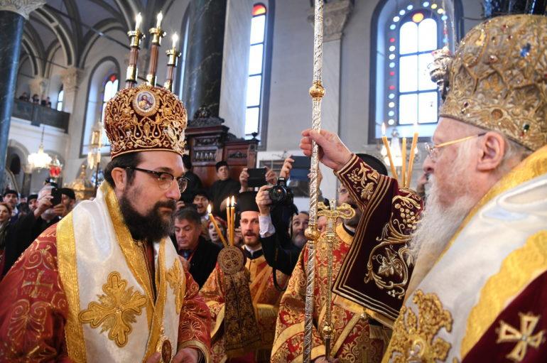 Η Χειροτονία του Επισκόπου Δωρυλαίου Δαμασκηνού στο Φανάρι