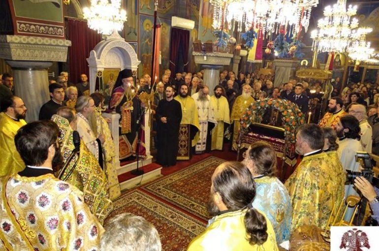 Λαμπρός ο εορτασμός του Αγίου Σπυρίδωνος στη Σπάρτη