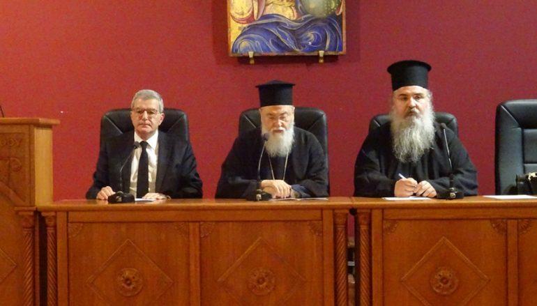 O Πολιτικός Επιστήμονας Κωνσταντίνος Χολέβας ομιλητής στην Ι. Μ. Κορίνθου
