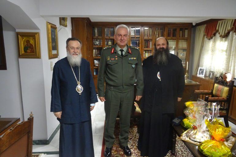Στον Μητροπολίτη Κορίνθου ο Διοικητής της ΔΙΚΕ Πελοποννήσου