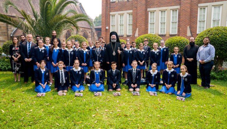 Μαθητές έψαλαν τα χριστουγεννιάτικα κάλαντα στον Αρχιεπίσκοπο Αυστραλίας