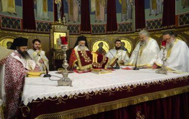 Η Αρχαιοπρεπής Θ. Λειτουργία του Αγίου Ιακώβου στην Κόρινθο