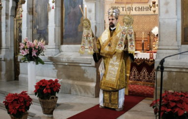 """Μελιτηνής: """"Η θυσιαστική πορεία των Χριστιανών αποτελεί καταξίωση"""""""