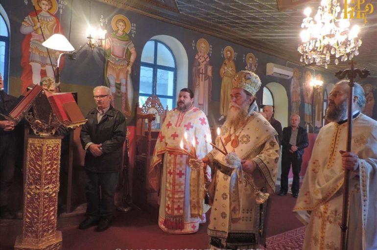 Ο εορτασμός του Αγίου Σπυρίδωνος στην Ι. Μ. Άρτης