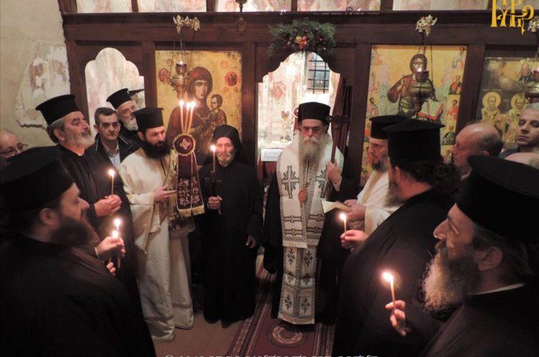 Σεραφείμ, ο νέος Μοναχός στην Ιερά Μητρόπολη Άρτης