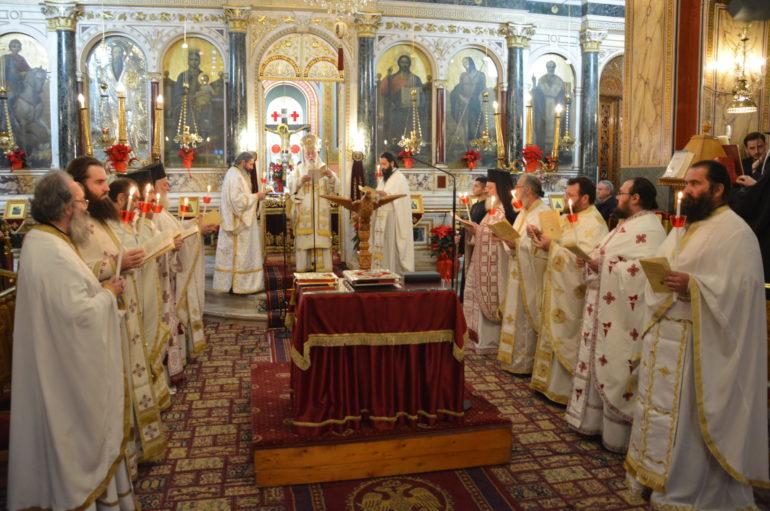 Η Θεία Λειτουργία του Αγίου Ιακώβου του Αδελφοθέου στην Τρίπολη