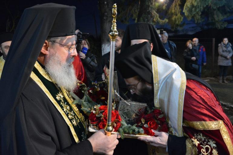 Λαμπρή υποδοχή Ι. Λειψάνου του Αγίου Κηρύκου στην Τρίπολη