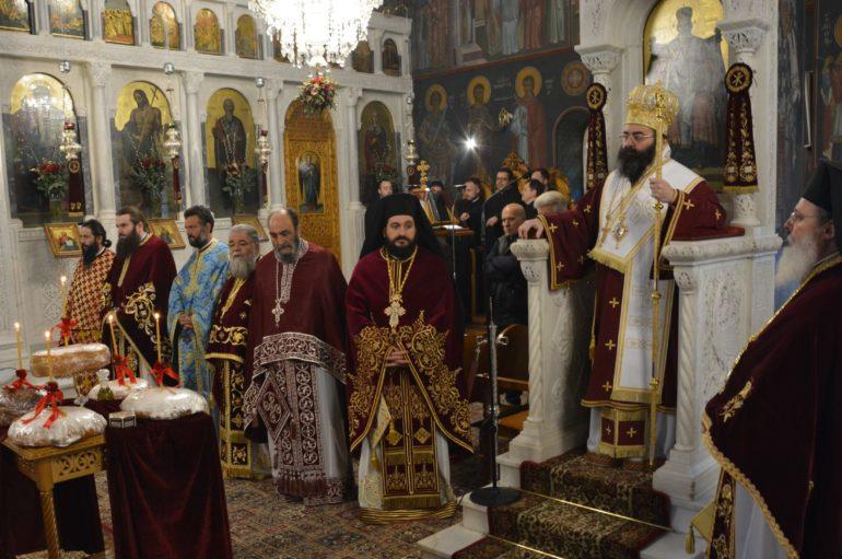 Λαμπρός ο εορτασμός της Αγίας Βαρβάρας στην Τρίπολη
