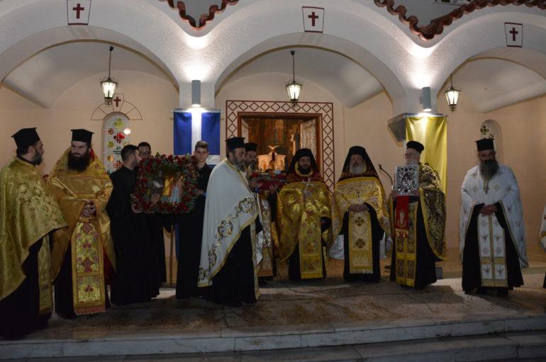 Μεθέορτος Εσπερινός και Λιτανεία της Αγίας Βαρβάρας στην Τρίπολη