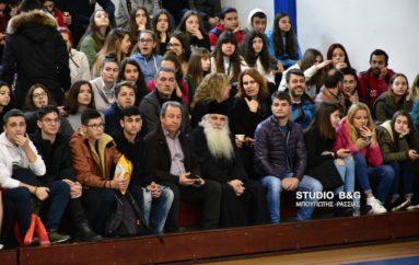 Ο Μητροπολίτης Αργολίδος σε Φιλανθρωπικό αγώνα μαθητών Λυκείων
