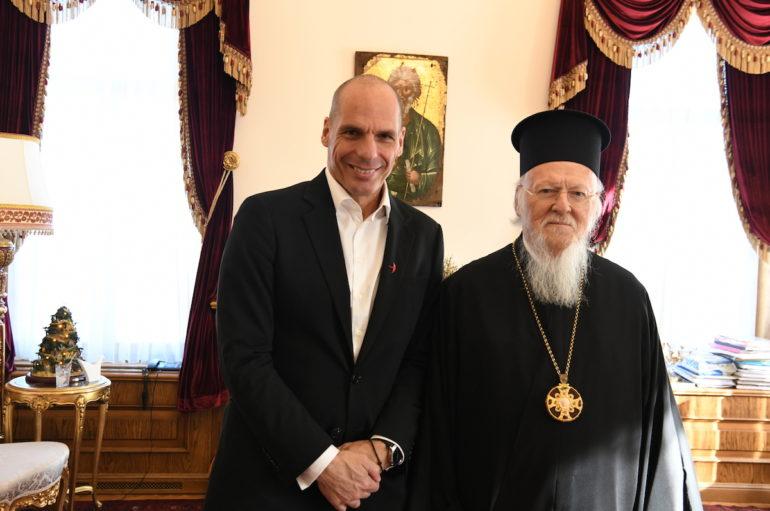 Ο Γραμματέας του ΜέΡΑ25 στο Οικουμενικό Πατριαρχείο