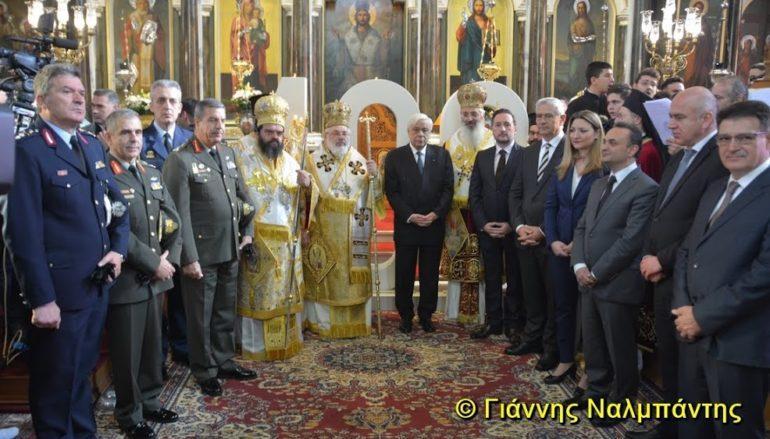 Ο ΠτΔ στον εορτασμό του Αγίου Νικολάου στην Αλεξανδρούπολη